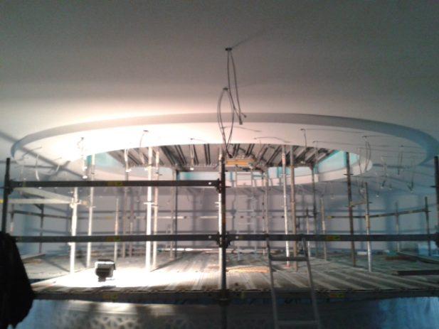Moschee Bauphase - Lobenz Trockenbau + Innenausbau