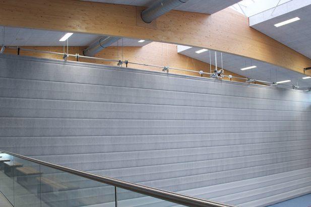 Doppelturnhalle Kumhausen - Lobenz Trockenbau + Innenausbau